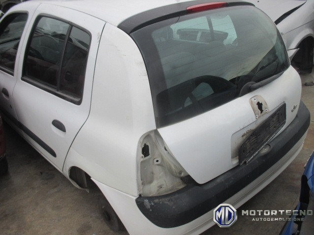 ricambi Renault Clio II restyling 2 serie bianca 2001 2006 2