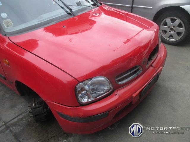 ricambi per Nissan Micra K11 rossa 5 porte 1992 2002