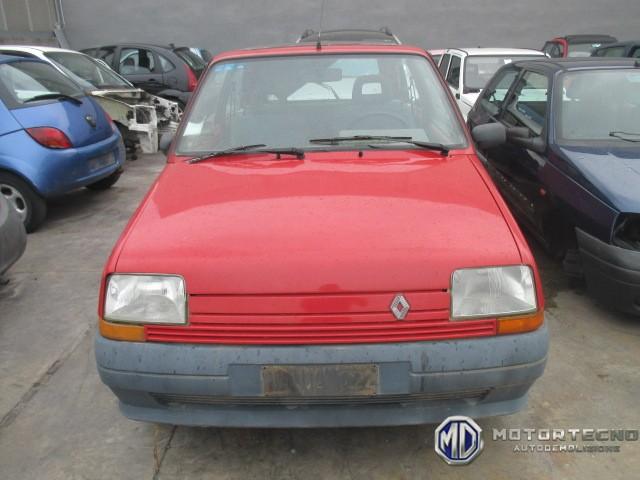 ricambi per Renault Supercinque 3 porte 1984 1996 rossa