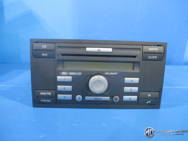 autoradio stereo cd ford focus c max 6s6118c815af 2003. Black Bedroom Furniture Sets. Home Design Ideas