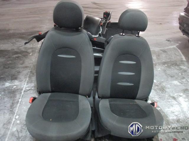 tappezzeria lancia ypsilon 2005 sedili interni grigio nero - motortecno