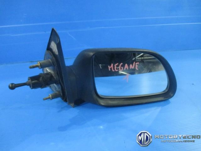 Specchio specchietto renault megane nero neutro manuale dx - Calotta specchio renault master ...